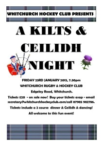 Ceilidh fundraiser night